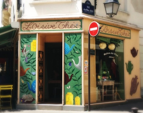 The facade of L'OisiveThé (©All rights reserved)